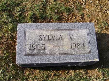 SHOEMAKER, SYLVIA V. - Adams County, Ohio | SYLVIA V. SHOEMAKER - Ohio Gravestone Photos