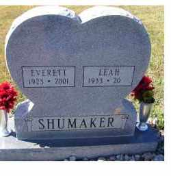 SHUMAKER, LEAH - Adams County, Ohio | LEAH SHUMAKER - Ohio Gravestone Photos