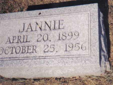 SHUMAKER, JANNIE - Adams County, Ohio | JANNIE SHUMAKER - Ohio Gravestone Photos