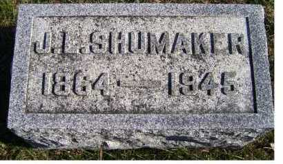 SHUMAKER, J. L. - Adams County, Ohio | J. L. SHUMAKER - Ohio Gravestone Photos