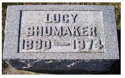 SHUMAKER, LUCY - Adams County, Ohio | LUCY SHUMAKER - Ohio Gravestone Photos