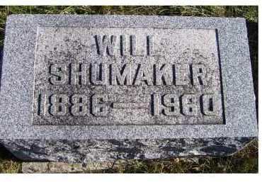 SHUMAKER, WILL - Adams County, Ohio | WILL SHUMAKER - Ohio Gravestone Photos