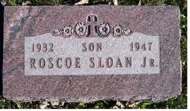 SLOAN, ROSCOE JR. - Adams County, Ohio | ROSCOE JR. SLOAN - Ohio Gravestone Photos