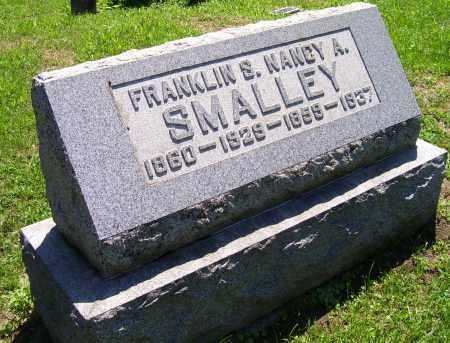 SMALLEY, FRANKLIN S. - Adams County, Ohio | FRANKLIN S. SMALLEY - Ohio Gravestone Photos