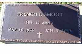 SMOOT, FRENCH L. - Adams County, Ohio | FRENCH L. SMOOT - Ohio Gravestone Photos