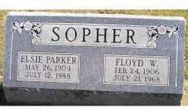 SOPHER, ELSIE - Adams County, Ohio | ELSIE SOPHER - Ohio Gravestone Photos