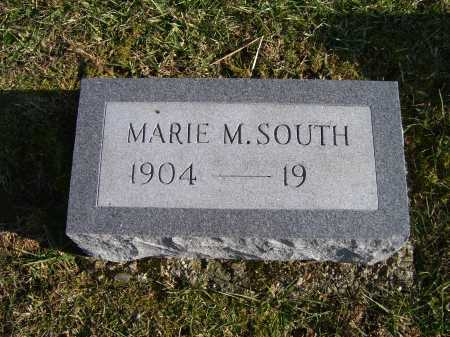 SOUTH, MARIE M. - Adams County, Ohio | MARIE M. SOUTH - Ohio Gravestone Photos