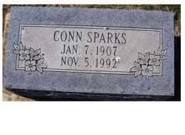 SPARKS, CONN - Adams County, Ohio | CONN SPARKS - Ohio Gravestone Photos