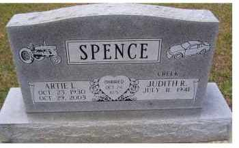 SPENCE, ARTIE L. - Adams County, Ohio | ARTIE L. SPENCE - Ohio Gravestone Photos