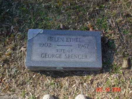 SPENCER, HELEN ETHEL - Adams County, Ohio | HELEN ETHEL SPENCER - Ohio Gravestone Photos