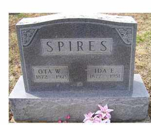 SPIRES, OTA W. - Adams County, Ohio | OTA W. SPIRES - Ohio Gravestone Photos