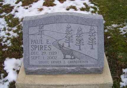 SPIRES, PAUL E. - Adams County, Ohio | PAUL E. SPIRES - Ohio Gravestone Photos