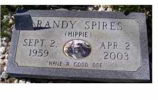 SPIRES, RANDY - Adams County, Ohio | RANDY SPIRES - Ohio Gravestone Photos