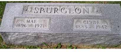 SPURGEON, MAE - Adams County, Ohio | MAE SPURGEON - Ohio Gravestone Photos