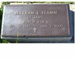 STAMM, BERTRAM L. - Adams County, Ohio | BERTRAM L. STAMM - Ohio Gravestone Photos