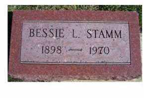 STAMM, BESSIE L. - Adams County, Ohio | BESSIE L. STAMM - Ohio Gravestone Photos