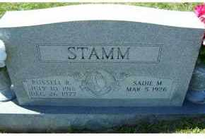 STAMM, SADIE M. - Adams County, Ohio | SADIE M. STAMM - Ohio Gravestone Photos