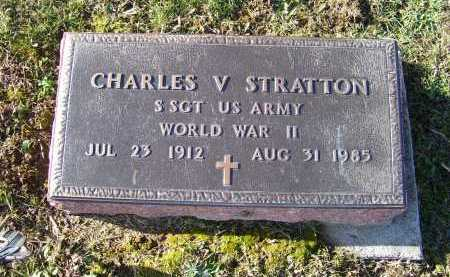 STRATTON, CHARLES V. - Adams County, Ohio | CHARLES V. STRATTON - Ohio Gravestone Photos
