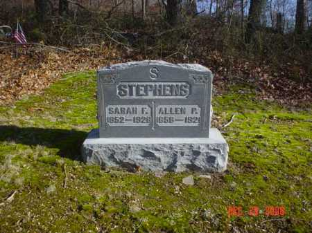 STEPHENS, SARAH F. - Adams County, Ohio | SARAH F. STEPHENS - Ohio Gravestone Photos