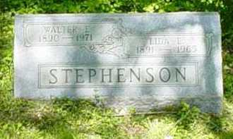 STEPHENSON, WALTER E. - Adams County, Ohio | WALTER E. STEPHENSON - Ohio Gravestone Photos