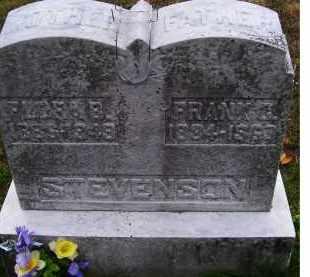 STEVENSON, FLORA B. - Adams County, Ohio | FLORA B. STEVENSON - Ohio Gravestone Photos