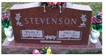 STEVENSON, PAUL G. - Adams County, Ohio | PAUL G. STEVENSON - Ohio Gravestone Photos