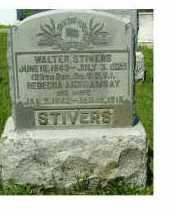 STIVERS, WALTER - Adams County, Ohio | WALTER STIVERS - Ohio Gravestone Photos