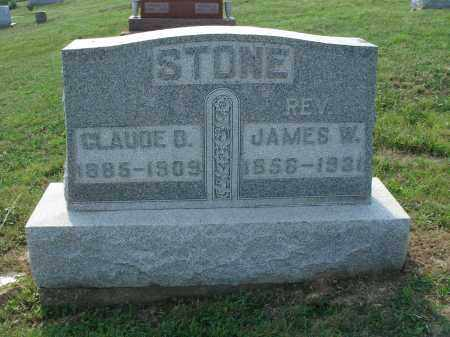 STONE, JAMES W. - Adams County, Ohio | JAMES W. STONE - Ohio Gravestone Photos