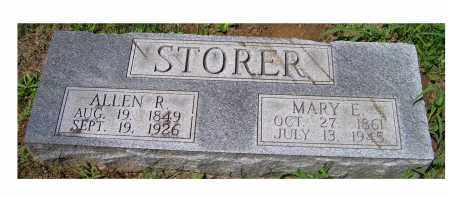 STORER, MARY E. - Adams County, Ohio | MARY E. STORER - Ohio Gravestone Photos