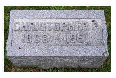 STORER, CHRISTOPHER P. - Adams County, Ohio | CHRISTOPHER P. STORER - Ohio Gravestone Photos