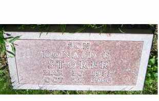 STORER, DONALD - Adams County, Ohio | DONALD STORER - Ohio Gravestone Photos