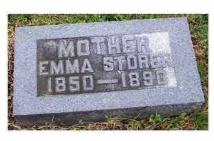 STORER, EMMA - Adams County, Ohio | EMMA STORER - Ohio Gravestone Photos