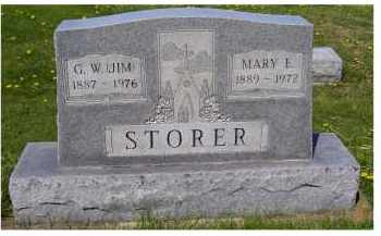 STORER, G.W. (JIM) - Adams County, Ohio | G.W. (JIM) STORER - Ohio Gravestone Photos