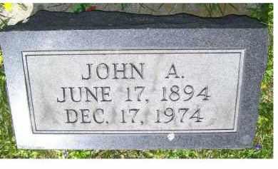 STORER, JOHN A. - Adams County, Ohio | JOHN A. STORER - Ohio Gravestone Photos