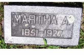 SMITTLE STORER, MARTHA A. - Adams County, Ohio | MARTHA A. SMITTLE STORER - Ohio Gravestone Photos