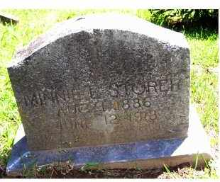 STORER, MINNIE E. - Adams County, Ohio | MINNIE E. STORER - Ohio Gravestone Photos