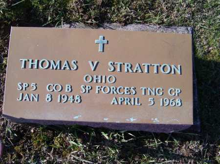 STRATTON, THOMAS V. - Adams County, Ohio | THOMAS V. STRATTON - Ohio Gravestone Photos