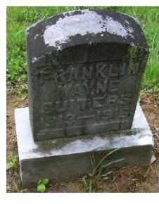 SUITERS, FRANKLIN WAYNE - Adams County, Ohio | FRANKLIN WAYNE SUITERS - Ohio Gravestone Photos