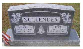 SULLENDER, JOHNNY A. - Adams County, Ohio | JOHNNY A. SULLENDER - Ohio Gravestone Photos