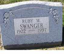 SWANGER, RUBY M. - Adams County, Ohio | RUBY M. SWANGER - Ohio Gravestone Photos