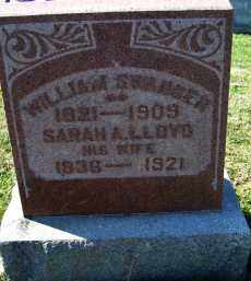 LLOYD SWANGER, SARAH A. - Adams County, Ohio | SARAH A. LLOYD SWANGER - Ohio Gravestone Photos