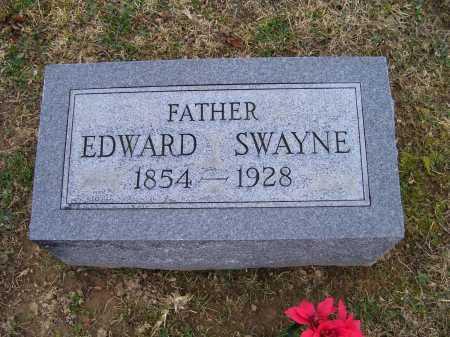 SWAYNE, EDWARD - Adams County, Ohio | EDWARD SWAYNE - Ohio Gravestone Photos