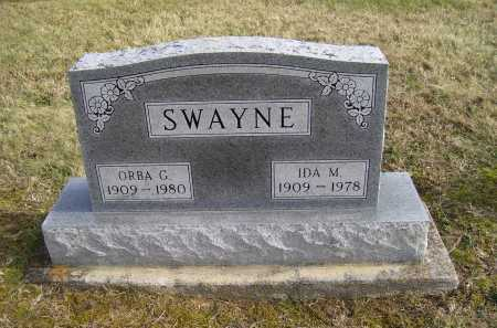 SWAYNE, IDA M. - Adams County, Ohio | IDA M. SWAYNE - Ohio Gravestone Photos