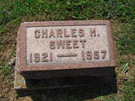 SWEET, CHARLES H - Adams County, Ohio | CHARLES H SWEET - Ohio Gravestone Photos