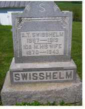 SWISSHELM, A. T. - Adams County, Ohio | A. T. SWISSHELM - Ohio Gravestone Photos