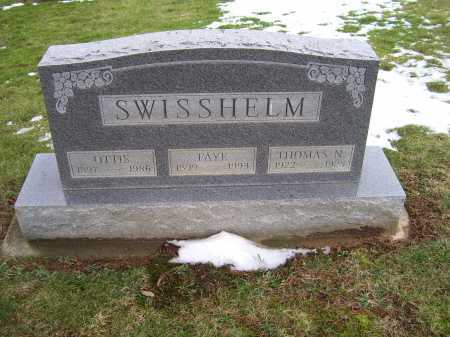 SWISSHELM, THOMAS N. - Adams County, Ohio | THOMAS N. SWISSHELM - Ohio Gravestone Photos