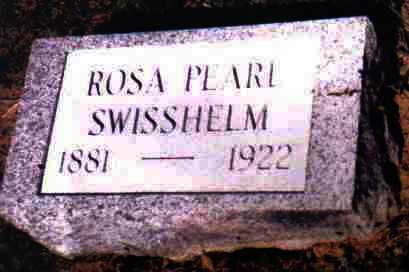 SWISSHELM, ROSA PEARL - Adams County, Ohio | ROSA PEARL SWISSHELM - Ohio Gravestone Photos