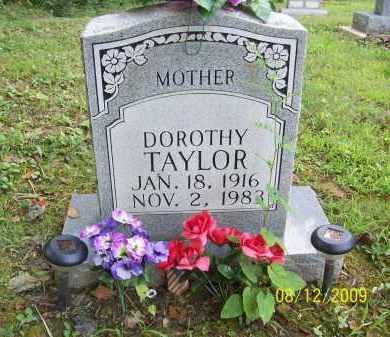 TAYLOR, DOROTHY - Adams County, Ohio | DOROTHY TAYLOR - Ohio Gravestone Photos
