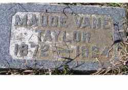 TAYLOR, MAUDE - Adams County, Ohio | MAUDE TAYLOR - Ohio Gravestone Photos