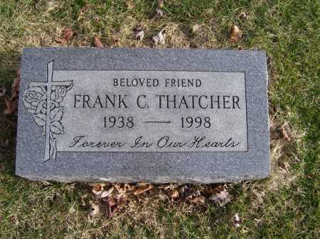 THATCHER, FRANK C. - Adams County, Ohio | FRANK C. THATCHER - Ohio Gravestone Photos
